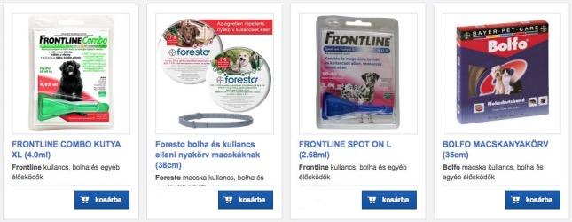 kullancs elleni termékek online shopja