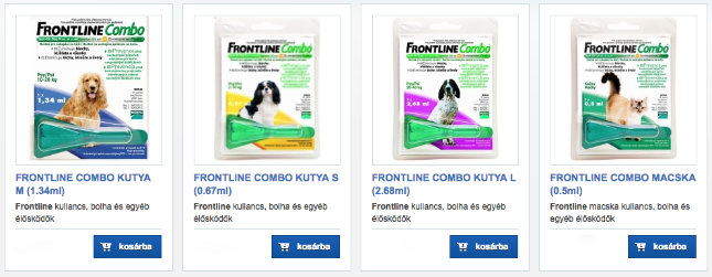 kullancs elleni termékek webáruháza