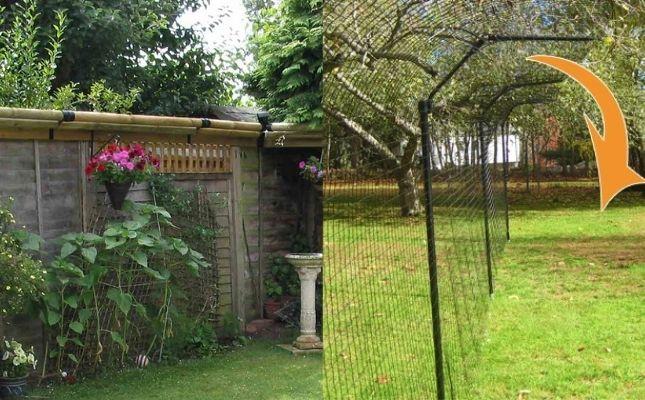 szökésbiztos otthon kialakítható a kertben is